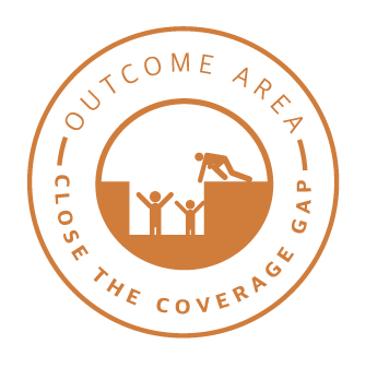 Close the Coverage Gap Badge