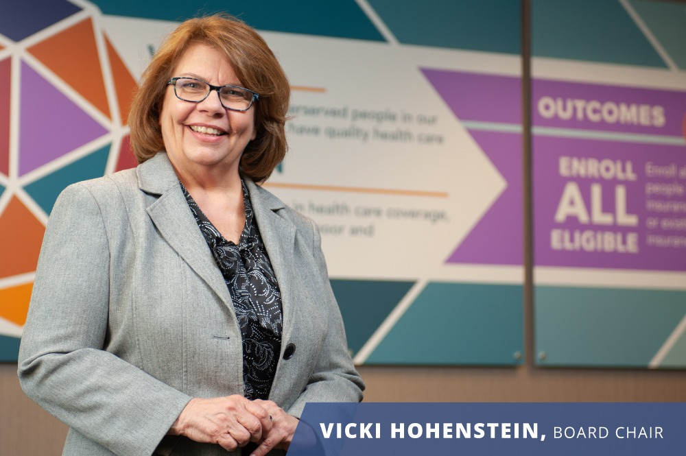 Vicki Hohenstein - REACH Healthcare Foundation Board Chair